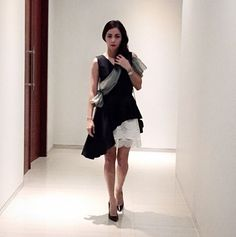 Jolie Elites, Ms @r3ny82 is #IAmJolie today in Reiss Skirt.  Tag & mention your style in #IAmJolie mJolie to win yourself a chance to be our 5 best dressed ladies, with shopping vouchers worth IDR 250,000 and our monthly magazines feature! #Jolie #JolieClothing #JolieIndonesia #IAmJolie #clothingline #onlineshop #ootd #fashion