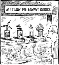 Alternative Energy Drinks. Reminds me of one of my classes I'm currently taking.