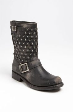 Frye 'Jenna Disc' Short Boot available at #Nordstrom For some unknown reason... I like these boots... :)