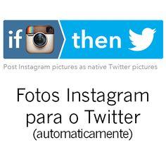 Como meter fotos Instagram a aparecer no Twitter.