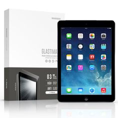 SIEGE - Glastimate Premium Tempered Glass Screen Protector for iPad Air