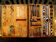 his handmade tap & dye set