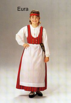 Eura, Finland Folk Costume, Costumes, Finland, Scandinavian, Traditional, Dresses, Design, Fashion, Historia