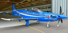 The 100th PC-21 came out of the final assembly line at Pilatus Aircraft Ltd 20 February 2015. Intended for the training fleet of the Royal Saudi Air Force.