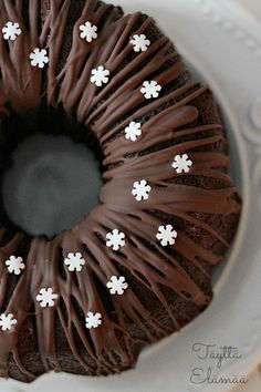 No Bake Desserts, Vegan Desserts, Finnish Recipes, Cake Recipes, Snack Recipes, Love Chocolate, Piece Of Cakes, Christmas Baking, Christmas Recipes
