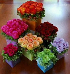roses- great colors #roses