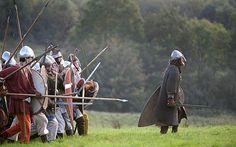 Battle of Hastings Reenactment 2008. UK.