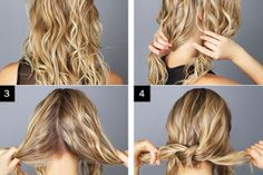 Messy Bun Hairstyle Tutorial - AllDayChic