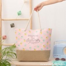 Bolso de playa - Prepear for summer (ENG) Mr Wonderful, Stationery Items, Wishing Well, Favorite Person, Purse Wallet, Finding Yourself, Purses, Summer, Gifts
