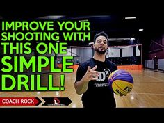 One SIMPLE Drill To Improve Your Basketball Shooting! (How To Shoot A Ba...
