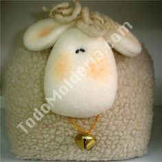 OVEJA LOLITA Sheep, Christmas Bulbs, Sewing Projects, Plush, Dolls, Holiday Decor, Pattern, Crafts, Ideas