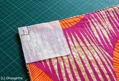 Poser des pressions... - Fleurs d'Orangette Scrappy Quilts, Homemade