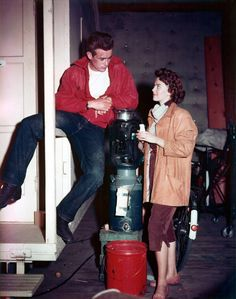 James Dean and Natalie Wood, Rebel Without a Cause.