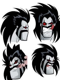 Lobo face by teoduarte on DeviantArt