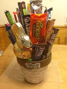 Chocolate Basket!! (I would definitely want this!) | Gift Basket Ideas
