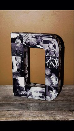 Custom photo letter 12 any letter of the by InitialRemembrance