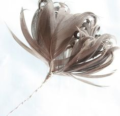 Feather Flowers Tutorial Feather Flowers B by jewelboxballerina