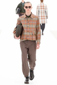 Ermenegildo Zegna offers a versatile collection that allows men the option to play it safe or live on the edge. #MilanFashionWeek