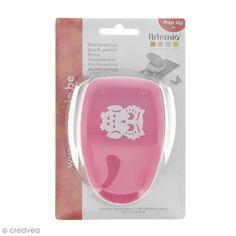 Compra nuestros productos a precios mini Perforadora Pop Up 3D Búho - 3,5 x 2,8 cm - Entrega rápida, gratuita a partir de 89 € !