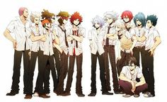 Oh my God. Can we take some time to appreciate this??? The Inazuma eleven Boys