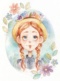 Search 'Anne of Green gables' on DeviantArt - Discover The Largest Online Art Gallery and Community Book Illustration, Character Illustration, Anne Shirley, Cute Drawings, Book Art, Concept Art, Anime Art, Character Design, Sketches