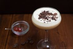 Black Forest Martini: A Black Forest Cake in Martini Form by Morgan Greenhalgh on DrinkWire