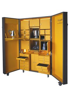 Christofle trunk by Pinel et Pinel; $174,500. christofle.com