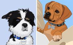 Custom Pet Portraits by Superstudio