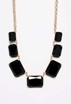 Rectangle Stone Necklace #privategallery #pgpackinglist