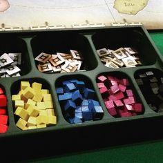Componentes de #shogun #DeliDaPersy #loucosporjogos #boardgame