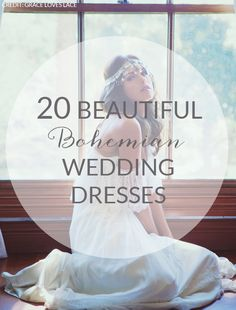 20 Beautiful Boho Wedding Dresses from Etsy | SouthBound Bride | http://www.southboundbride.com/20-beautiful-boho-wedding-dresses | Credit: Grace Loves Lace