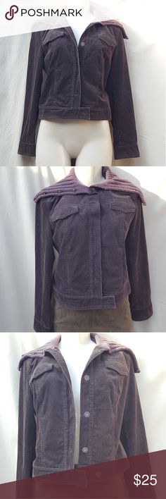 Jcrew brown curdoroy bomber jacket size Medim Great used condition curdoroy bomber jacket, very warm. Has a very tiny small flaw, a little white dot under the necklike, not noticible I will post a picture of it. jcrew Jackets & Coats