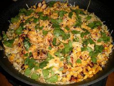 Tex Mex Rice Skillet. My hubby made this recipe the other night and it was awesome!