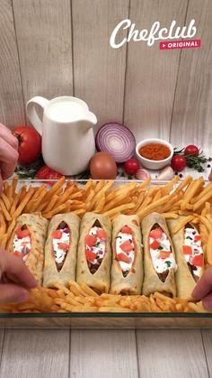 Tasty Videos, Food Videos, Easy Chicken Dinner Recipes, Aesthetic Food, Creative Food, Diy Food, Food Hacks, Fall Recipes, Mexican Food Recipes