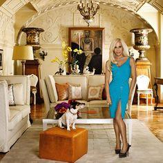 Donatella Versace - Inside Stars' Homes