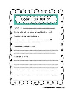 oral book report rubric | teaching reading | pinterest | rubrics, Presentation templates