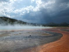 Yellowstone before the storm Photo by Catherine Tandy — National Geographic Your Shot