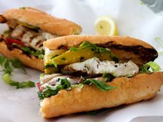 Grilled Fish Sandwich (recipe)