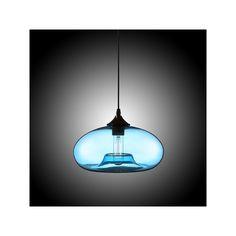 3  Light Modern Glass Pendant Lights Bubble Design