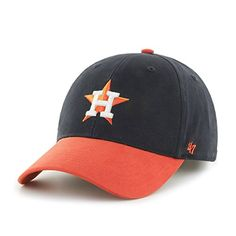 NOAH // MLB Houston Astros Kids Short Stack '47 MVP Adjustable Ha...
