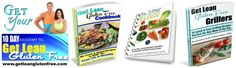 Get Lean Gluten Free Cookbook, meal plans, workout videos, done for you cleanses