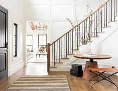 Formal Living Rooms, Living Spaces, Inexpensive Curtains, Small Lounge, Refinishing Hardwood Floors, Custom Drapes, Studio Mcgee, Interior Decorating, Interior Design