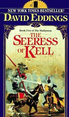 Items similar to Book 5 of the Mallorean: The Seeress of Kell by David Eddings c. 1991 Delray Fantasy Fiction on Etsy Cool Books, Sci Fi Books, Audio Books, My Books, Fantasy Book Covers, Book Cover Art, Fantasy Books, Fantasy Series, Fantasy Art