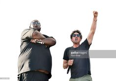 Recording artists Killer Mike (L) and Zack de la Rocha of Run the Jewels perform onstage during day 2 of the 2016 Coachella Valley Music & Arts Festival Weekend 2 at the Empire Polo Club on April 23, 2016 in Indio, California.
