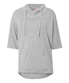 Look at this PUMA Athletic Gray Studio Yogini Cover-Up Hoodie on #zulily today!