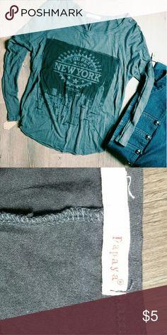 Long sleeve Cute and in great condition! B4 Papaya Tops Tees - Long Sleeve