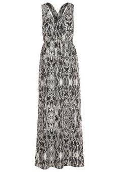 SQUAD JUNGLE - Fotsid kjole - sort