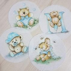 Shirt Bag, Kids Logo, Baby Art, Fabric Painting, Little Boys, Coloring Pages, Decoupage, Teddy Bear, Clip Art