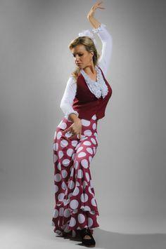 Flamenco skirt. Foto: Carlos Sillero. Bailaora: Francine La Rubi
