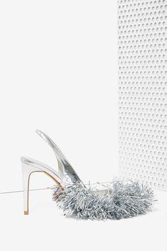 Jeffrey Campbell Noel Tinsel Heels - mama gotta have them! ;)